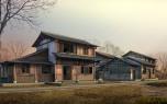 3D Classic House 8
